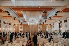 An elegant, gold & white wedding at the Intercontinental, Singapore. Fullerton Hotel, Wedding Planning Websites, Engagement Couple, Real Weddings, Singapore, Wedding Inspiration, Ceiling Lights, Bridal, Elegant