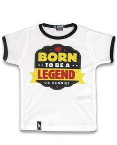 LEGEND, Six Bunnies Kids, Kid tees at Switchblade Clothing
