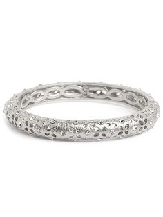 Silver Cutout Bangle. I had you and lost you, now I have you again! http://baublebar.com/index.php/rewardsref/index/refer/id/14336/