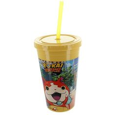 Yo-Kai Watch Jibanyan 13oz Travel Mug ** Click image to review more details. (This is an affiliate link) #ToolGadgetSets