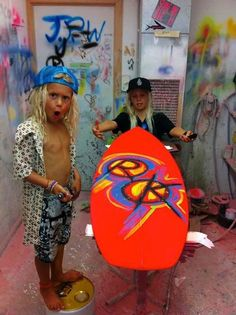 OMG Love these Surfer kids