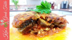 Greek Eggplant and Feta Cheese Bake Eggplant Dishes, Eggplant Recipes, Casseroles, Greek Cooking, Saute Onions, Latest Recipe, Greek Recipes, Feta, A Food