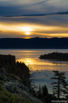 Emerald Bay Sunrise - Lake Tahoe, California