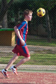 Justin Bieber: Soccer stud
