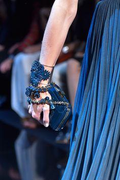 Elie Saab Haute Couture Fall 2014 #dress #bracelet #bag