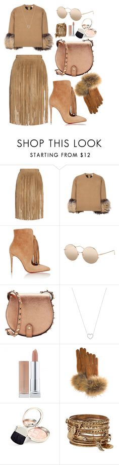 """Take Your Things and Go"" by richiolle ❤ liked on Polyvore featuring Tamara Mellon, Michael Kors, Christian Louboutin, Linda Farrow, Rebecca Minkoff, Tiffany & Co., FRR, By Terry and ALDO"