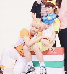 Tao And Luhan being adorable Part 2 (GIF)