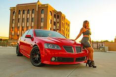 The Rider Magna Gonzalez grew up around cars, but unlike some other enthusiasts she never really took interest in them until her senior year in high school. So after a few years of appreciating the scene, she purchased her 2009 Pontiac G8 at the age of 19 and officially got into the sport of customizing. Since then, sh