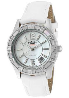 Rotary Watch Women's White Swarovski...     $79.00