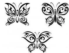 Celtic Butterfly Tattoos | to have smaller, yet, beautiful tattoos, then butterfly wrist tattoos ...