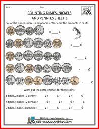 math worksheet : counting money worksheet dimes and pennies 1  math worksheets  : Math In Focus Worksheets