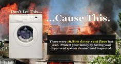 If it takes longer than 30 minutes to dry an average load of laundry, chances are you may need a dryer vent cleaning. Call Nashville Fireplace & Chimney to schedule your dryer vent cleaning today. 1-615-906-3043 or www.nashvillechimneysweep.net