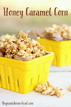 This easy honey caramel corn recipe is sure to become a new fall favorite on your homestead!