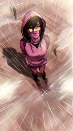 Mileena in the Rain by kicky.deviantart.com on @DeviantArt