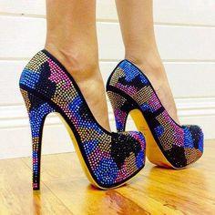 Increibles Zapatos altos de tac�n que se ven realmente sexy | Moda 2014
