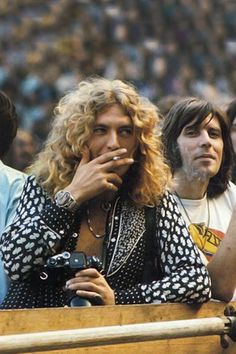 Robert Plant..his face