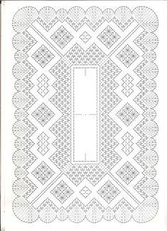 Resultado de imagen de Patrones mantillas de bolillos Lace Knitting, Knitting Patterns Free, Crochet Patterns, Hairpin Lace Crochet, Bobbin Lace Patterns, Lacemaking, Lace Heart, Lace Jewelry, Flower Applique