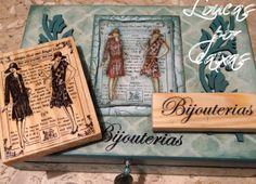 detalhe carimbos damas antigas - 3866 bijouterias - 3428