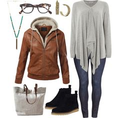 A fashion look from November 2014 featuring Mary Portas sweaters, J.TOMSON jackets and H&M jeans. Browse and shop related looks.