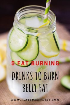 5 Best Fat Burning Drinks to Burn Belly Fat and Shrink Your Waist fat burning detox drinks 5 Best Fat Burning Drinks to Lose Belly Fat and Shrink Your Waist Fat Burning Water, Fat Burning Detox Drinks, Fat Burning Foods, Fat Burning Fruit, Belly Fat Burner Foods, Belly Fat Burner Drink, Weight Loss Drinks, Weight Loss Smoothies, Healthy Weight Loss