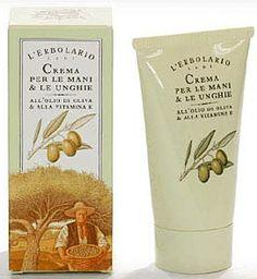 Hands cream with extravirgin olive oil. L'Erbolario - Lodi (Milan)