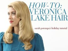 How-To Get Veronica Lake Hair with Sarah Potempa and the Beachwaver …