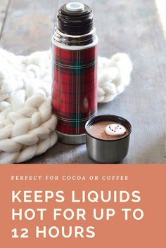 Perfect for toting cocoa or coffee, this thermal container keeps liquids hot while you're on the go. #thermo #ad #christmasgifts