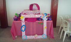 Mesa de regalos para baby shower girl ♥
