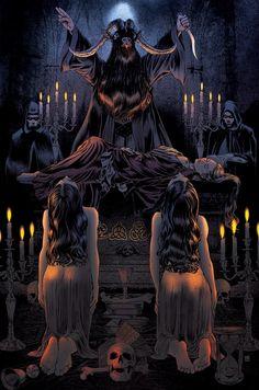 Posh #Satanic Ritual -cover for Led Zeppelin #Occult #Magick #Art