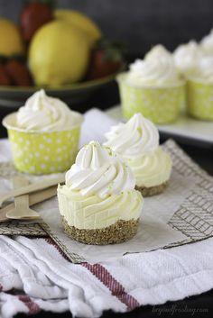 Skinny Lemon Mousse Pies 3 pts+