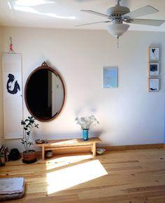 Design*Sponge Home Tour: Ja Soon Kim  Stunning meditation room