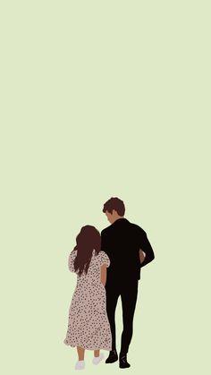 @_cielo_art on Instagram Cute Couple Cartoon, Cute Couple Art, Cute Illustration, Digital Illustration, Hope Art, Animated Love Images, Cartoon Girl Drawing, Cute Cartoon Wallpapers, Cute Images