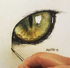 60 Trendy Ideas For Eye Drawing Cat Watercolor Painting Eye Art, Cat Painting, Watercolor Cat, Art Painting, Animal Art, Art Instructions, Watercolor Paintings, Animal Paintings, Eye Painting