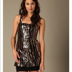 Free people sequined zebra print top Size XS zebra print sequin top by Intimately Free People. Free People Tops