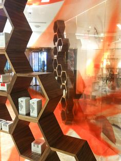 Hormeta by Relativity Architects Retail Design, Architects, Skin Care, Lighting, Projects, Home Decor, Log Projects, Homemade Home Decor, Building Homes
