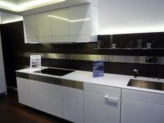 Poggenpohl +ARTESIO white kitchen #poggenpohl #white #artesio