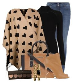 Untitled #1019 by mkomorowski on Polyvore featuring polyvore, fashion, style, Misha Nonoo, Burberry, 7 For All Mankind, Casadei, Dorothy Perkins, Chanel and clothing