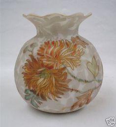 "STUNNING MT. WASHINGTON ""CROWN MILANO"" ART GLASS VASE in Pottery & Glass, Glass, Art Glass   eBay"