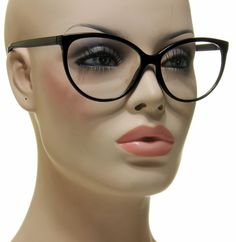 find best value and selection for your new smart sexy lady womens cat eye medium glasses thin black frame eyeglasses search on ebay