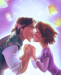 pictures of Rapunzel, Elsa,and Anna together | Disney Princess Rapunzel and Eugene