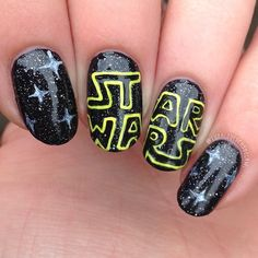 STAR WARS by lunaloveschocolate #nail #nails #nailart