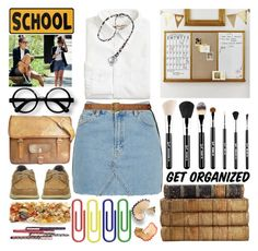 """Back To School"" by grozdana-v ❤ liked on Polyvore featuring PBteen, Raagaz, Topshop, J.Crew, Lauren Ralph Lauren and Vera Bradley"