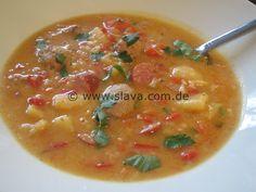 Serbische Fleischklößchen-Suppe « kochen & backen leicht gemacht mit Schritt für Schritt Bilder von & mit Slava