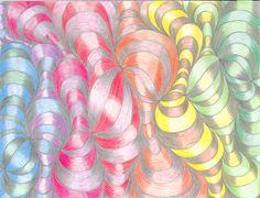 Curved Line Design - Teacher Sample