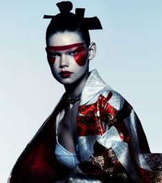 Sleek Samurai Editorials - The Flair Italia Caught Inside Photoshoot Displays Asian Styles (GALLERY) #high #fashion #japanese #photography