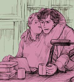 Sherlock and John by DonPerico.deviantart.com on @deviantART