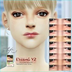 Sims 4 CC's - The Best: Eyebag by Tifa Sims