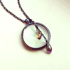 Magnifying glass necklace by JLPromiseJewellery, $35.00