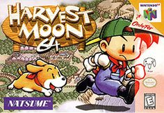 Harvest Moon N64. Possibly  my favorite video game as a child.