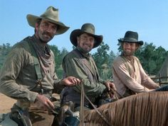 Tom Selleck, Ben Johnson, Jeff Osterhage The Shadow Riders One of My all Time FAVORITE movies!!!